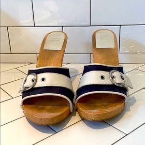 Coach Wood Soled Shoes